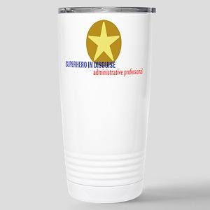 Superhero in disguise Stainless Steel Travel Mug