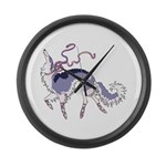Ballet Borzoi Large Wall Clock