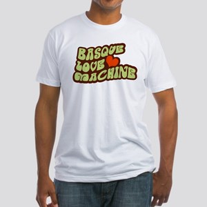 Basque Love Machine Fitted T-Shirt