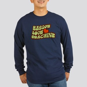 Basque Love Machine Long Sleeve Dark T-Shirt