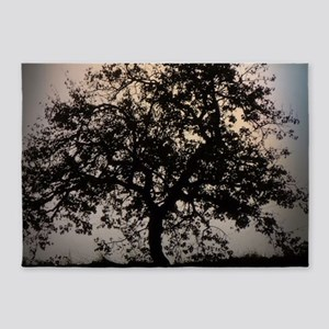 fascinating tree 5'x7'Area Rug