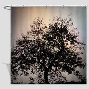 fascinating tree Shower Curtain