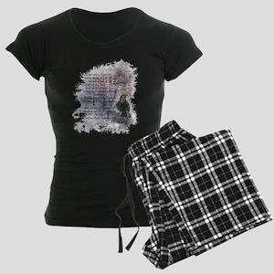 The Raven Edgar Allen Poe Poem pajamas