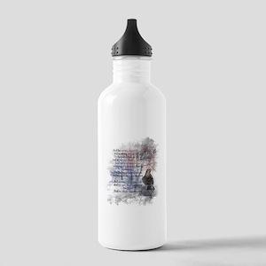 The Raven Edgar Allen Stainless Water Bottle 1.0l