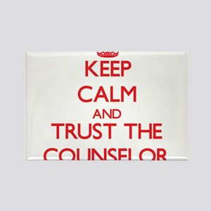 Keep Calm and Trust the Counselor Magnets
