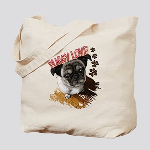 Puggy Love  Tote Bag