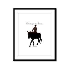 Horse Theme Design #56000 Framed Panel Print