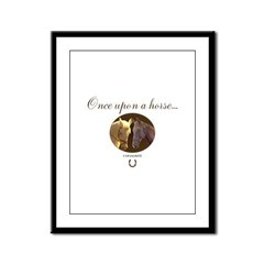 Horse Theme Design #55000 Framed Panel Print