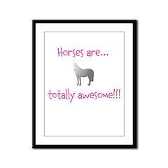Horse Theme Design #54000 Framed Panel Print