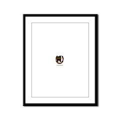 Horse Theme Design #50000 Framed Panel Print
