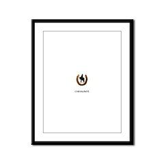 Horse Theme Design #47000 Framed Panel Print
