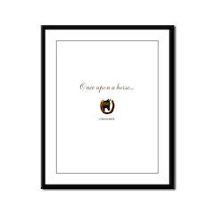 Horse Theme Design #46000 Framed Panel Print