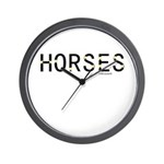 Horse Theme Design #40060 Wall Clock