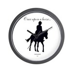 Horse Theme Custom Wall Clock #4012