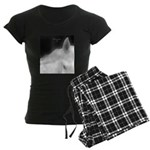 Horse Theme Design #40010 Women's Dark Pajamas