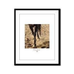 Horse Theme Design #60000 Framed Panel Print