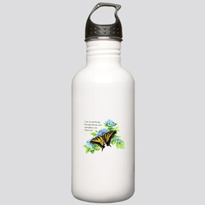 Motivational Scripture Stainless Water Bottle 1.0l