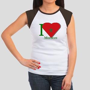 I love Morocco Women's Cap Sleeve T-Shirt