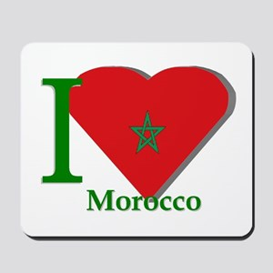 I love Morocco Mousepad