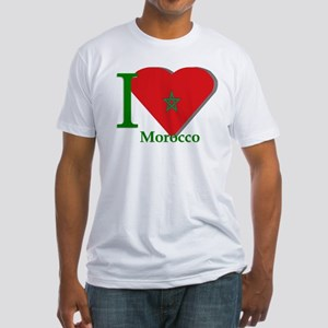 I love Morocco Fitted T-Shirt