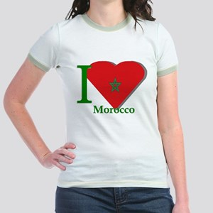I love Morocco Jr. Ringer T-Shirt