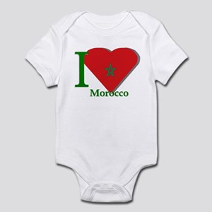 I love Morocco Infant Bodysuit