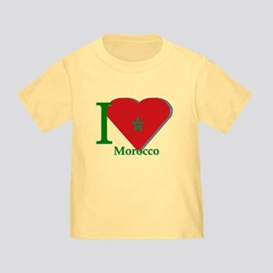 I love Morocco Toddler T-Shirt