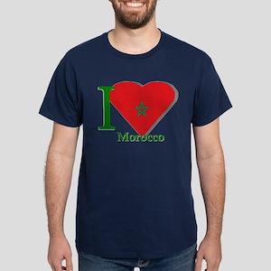 I love Morocco Dark T-Shirt