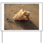 Conch Shell (Color) Yard Sign