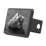 Conch Shell (Black and White) Hitch Cover