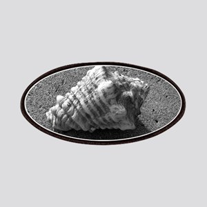 Conch Shell (Black and White) Patches