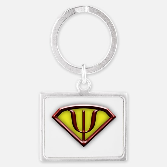 Superhero Psychologist Keychains