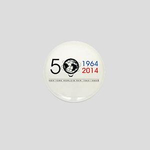 The Unisphere Turns 50! Mini Button