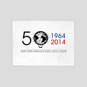 The Unisphere turns 50! 5'x7'Area Rug