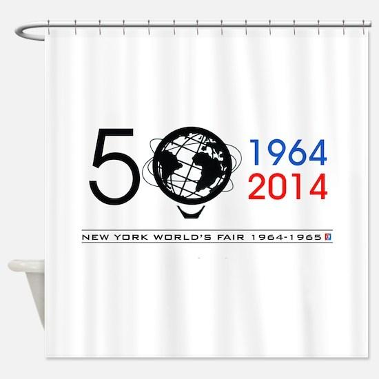 The Unisphere Turns 50! Shower Curtain