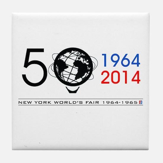 The Unisphere Turns 50! Tile Coaster