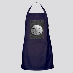 Sand Dollar Seashell Apron (dark)