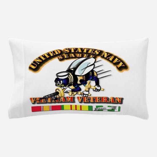 Navy - Seabee - Vietnam Vet Pillow Case