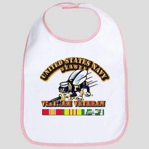 Navy - Seabee - Vietnam Vet Bib
