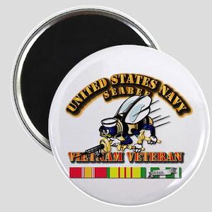Navy - Seabee Vietnam Vet Magnet Magnets
