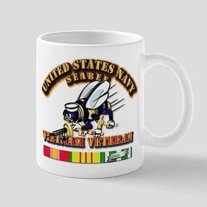 Navy - Seabee - Vietnam Vet Mug
