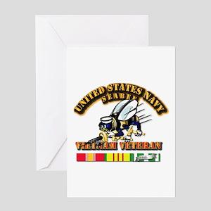 Navy - Seabee Vietnam Vet Card Greeting Cards