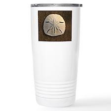 Sand Dollar Seashell Travel Mug
