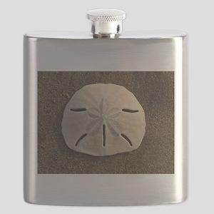 Sand Dollar Seashell Flask