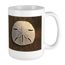 Sand Dollar Seashell Mugs