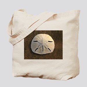 Sand Dollar Seashell Tote Bag