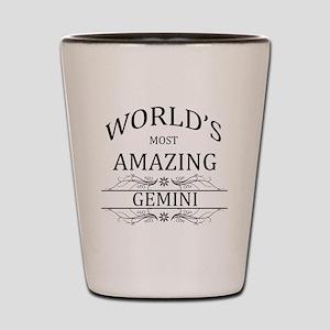 World's Most Amazing Gemini Shot Glass
