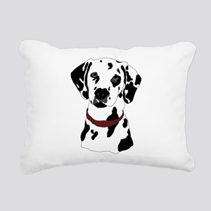 Dalmatian Rectangular Canvas Pillow