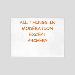 archery 5'x7'Area Rug