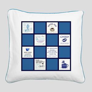 FRIENDS QUILT Square Canvas Pillow